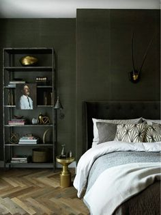 Image result for mint green english country contemporary bedroom