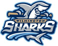 Wilmington Sharks Primary Logo (2014) -