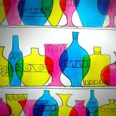 arteascuola: Murano glassware shelf
