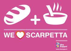 WE LOVE SCARPETTA    http://www.chezuppa.it    #food #scarpetta #pasta #pastalover #ricette #cibo #sugo