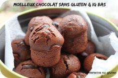 Ces moelleux chocolat sans gluten et IG bas sont l'occasion d'introduire la notion d'indice glycémique et de régime sans gluten.