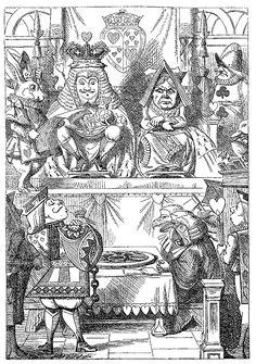 Alice in Wonderland / Lewis Carroll; illustrated by Sir John Tenniel Alice In Wonderland Illustrations, Alice In Wonderland Book, Alice In Wonderland Costume, Adventures In Wonderland, Book Illustrations, Alice Book, Wonderland Party, John Tenniel, Lewis Carroll