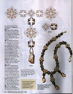 Weave - archivos - Picasa Web Albums Beading Projects, Beading Tutorials, Free Tutorials, Jewelry Patterns, Beading Patterns, Magazine Beads, Beaded Jewelry, Beaded Necklace, Necklaces