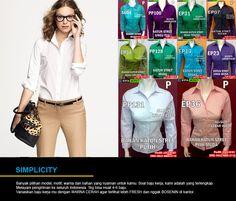 Hubungi yang Jual Baju Kerja Wanita Murah yang cantik, modis dan elegan ini di  PinBB : 7d20d94c