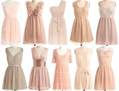 Nudes for the girls - Click image to find more Wedding & Events Pinterest pins