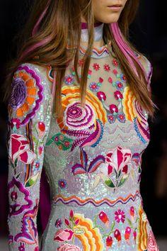 "forlikeminded: "" Temperley London | London Fashion Week | Spring 2017 """
