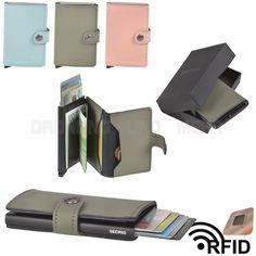 Kartenetui SECRID Miniwallet RFID Cardprotector Kartenbörse Minibörse MATTE