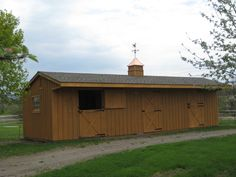 Shed Row Horse barns Another option for my 2 donkeys! http://www.woodtex.com/barns-and-run-in-sheds.asp