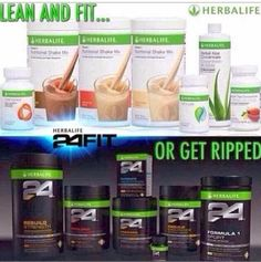 Herbalife: Lean and Fit OR Getting Ripped