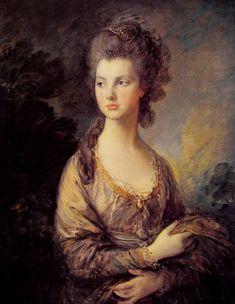 """Mrs. Graham"" - Thomas Gainsborough (1775), National Gallery of Art, Washington, D.C."