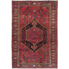 Shop for ecarpetgallery Hand-Knotted Hand-Knotted Touserkan Red  Wool Rug (4'3 x 6'4) and more for everyday discount prices at Overstock.com - Your Online Home Decor Store!