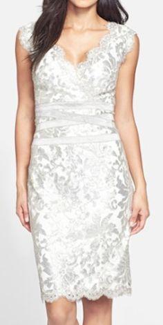 metallic lace sheath dress  http://rstyle.me/n/q9qmapdpe