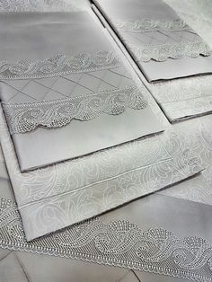 Nevresim Bed Cover Design, Kids Dress Wear, Bedclothes, Patchwork Pillow, Linen Tablecloth, Heirloom Sewing, Candle Lanterns, Cutwork, Bed Covers