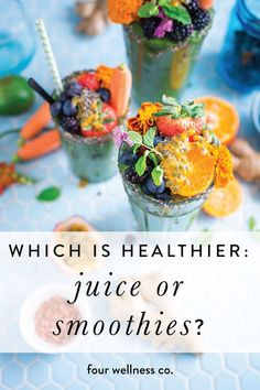 The health benefits of juicing and smoothies for getting more nutritious fruits & veggies in your diet + our favorite healthy juice & smoothie recipes. Healthy Food Recipes, Sugar Detox Recipes, High Protein Recipes, Delicious Recipes, Healthy Foods, Keto Recipes, Healthy Juices, Healthy Smoothies, Smoothie Recipes
