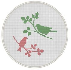 Birds Cross stitch pattern cross stitch chart by MagicCrossStitch