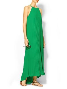 Piperlime | Pleated Trapeze Dress... I want this so fucking bad...lol