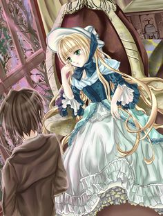 GOSICK 2'thinking by yayaloney.deviantart.com on @deviantART