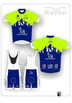 teamwear Cycling Wear, Cycling Jerseys, Cycling Outfit, Novo Nordisk, Team Wear, Sport Outfits, Sportswear, Basketball, Bike