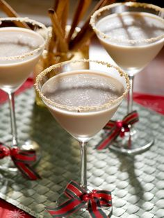 Try these Christmas cocktail recipes from HGTV.com for your holiday parties.