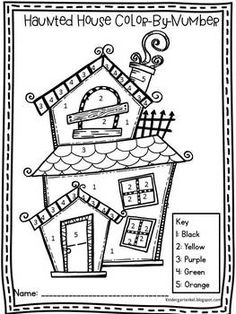 Halloween Worksheets, Halloween Activities For Kids, Thanksgiving Activities, Halloween Crafts For Kids, Craft Projects For Kids, Halloween Fun, Halloween Celebration, Halloween Coloring Pages, Coloring Pages For Kids