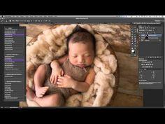 Dewdrops Photography Newborn Edit - YouTube