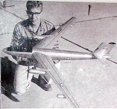 Vintage B-47D Propjet