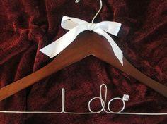 DIY Inspiration: Custom Wedding Wire Hangers