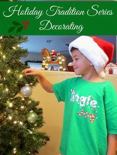 Holiday Tradition Series : Decorating - #ChosenByKids #ad