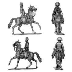 Napoleón a caballo (Manufactura Histórica de Soldados de Plomo) Subido desde www.elgrancapitan.org