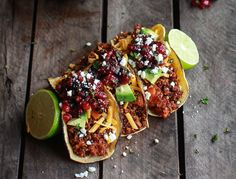 10 Vegan Taco Recipes- These meatless meals are crave-worthy and good for the environment and wildlife! To learn more visit TakeExtinctionOffYourPlate.com