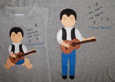 cocodrilova: camisetas ismael serrano #camisetas #ajuego #ismaelserrano #diadelpadre #handmade