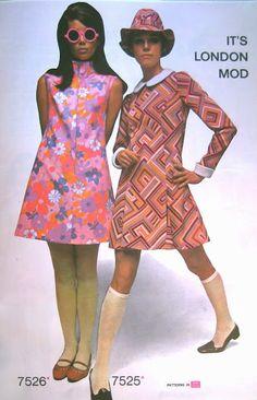 1960s MOD Dresses