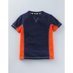Boden Sportliches T-Shirt Dunkelblau Jungen Boden