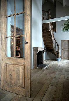 Antiek Amber- wood floors!