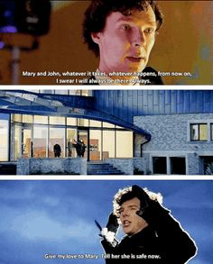 His last vow... he was willing to do whatever it took. I CALLED IT! I KNEW THAT'S WHAT THE LAST EP WOULD BE ABOUT. His last vow, not John's