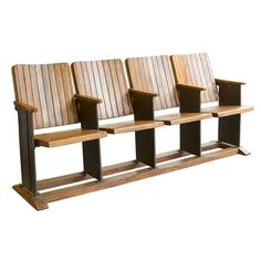 Wrightwood Furniture Co | Indian Cinema House Bench