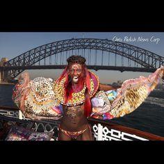 Camilla Franks brought Africa to Sydney Harbour yesterday with her Fashion Week show. Model Duckie Thot in a Camilla creation. #duckiethot #camillafranks #fashion #fashionista #photooftheday #photoshoot #fashionshoot #mbfw2016 #fashion #kaftan #ilovesydney #iloveaustralia #sydneyharbour #sydneyharbourbridge by chrispavphoto http://ift.tt/1NRMbNv