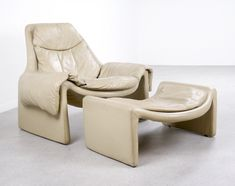 P60 + P62 'Proposals' lounge chair by Vittorio Introini for Saporiti, 1970s