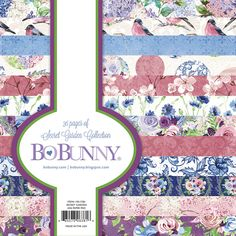 BoBunny+-+Secret+Garden+Collection+-+6+x+6+Paper+Pad+at+Scrapbook.com
