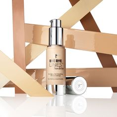 The right foundation can help you prevent signs of aging from forming and make your skin look more youthful. Shop our favorite formulas for maturing skin. Foundation For Mature Skin, Best Foundation, Anti Aging Serum, Anti Aging Skin Care, Aging Cream, Base, Perfume, Pure Products, Beauty Products