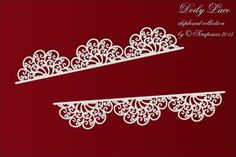 Doilly borders           Pre-order 25-11