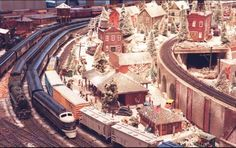 CG&E had a train display every year in their lobby.  It became a family tradition to go down to see the trains.