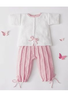 Knitting Pattern for Garter St Baby Sweater Knitting Pattern, Baby Knitting Patterns, Knitting Designs, Baby Patterns, Crochet Patterns, Girls Sweaters, Baby Sweaters, Diy Crafts Knitting, How To Purl Knit