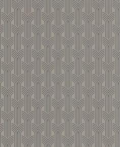Grahm & Brown Art Deco: Cinema - Taupe wallpaper