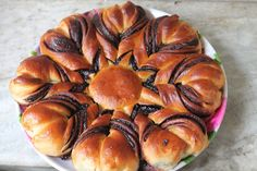YUMMY TUMMY: Nutella Flower Bread Recipe - How to Make Nutella Star Bread Recipe - Eggless Recipe