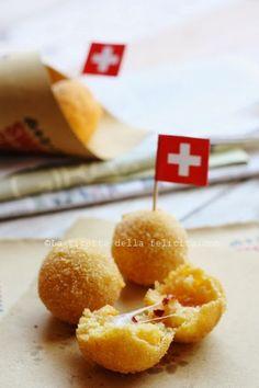 La ricetta della felicità: Arancinette di polenta con Gruyère e 'Nduja per Sw...