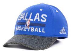 "Dallas Mavericks NBA Adidas ""Team Practice"" Stretch Fitted Hat New #adidas #DallasMavericks"