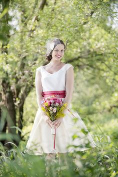 kurz und gut on Pinterest  Hochzeit, Vintage Wedding Dresses and 60s ...