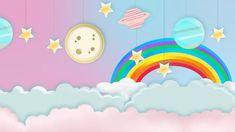Cartoon Background, Cartoon Clouds, Kids Background, Free Video Background, Cute Pastel Background, Moving Backgrounds, Cute Backgrounds, Power Point Backgrounds, Baby Shower Deco