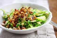 Chef Gwen's Autumn Brussels Sprout Salad > Garden of Life's Blog > Home